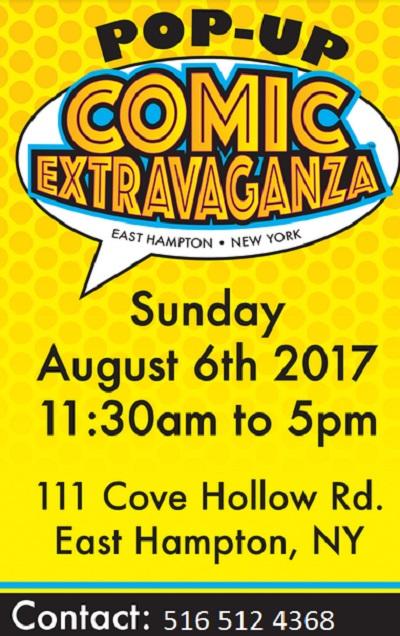 East Hampton Comic Extravangza